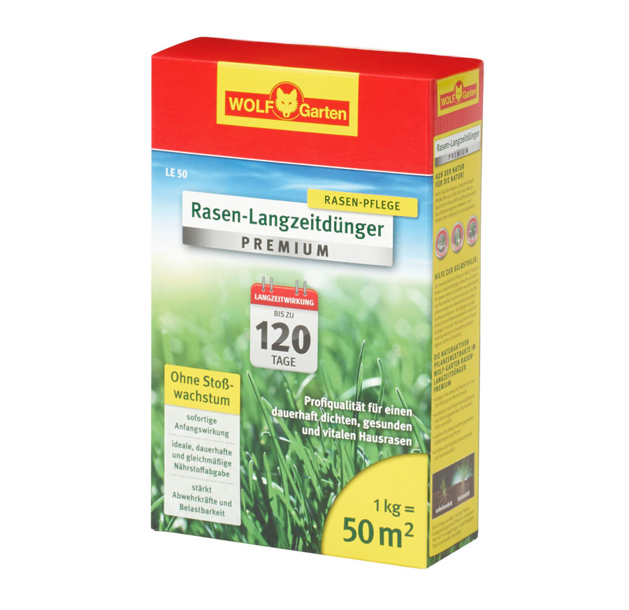 LE 50 LONG-TERM LAWN FERTILISER
