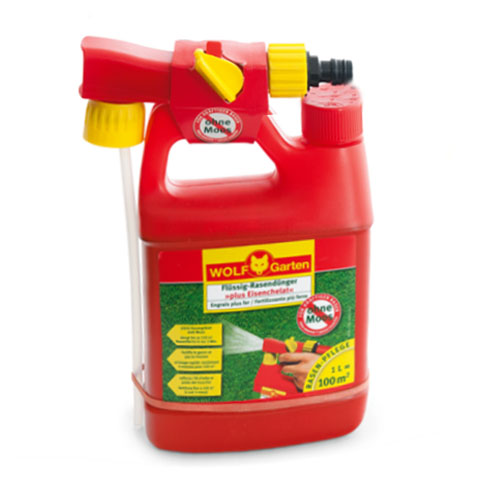 LM 100 B PLUS IRON LIQUID LAWN FERTILIZER