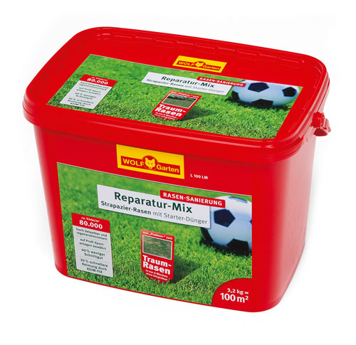 L 100 LM DURABLE-LAWN WITH STARTER-FERTILIZER