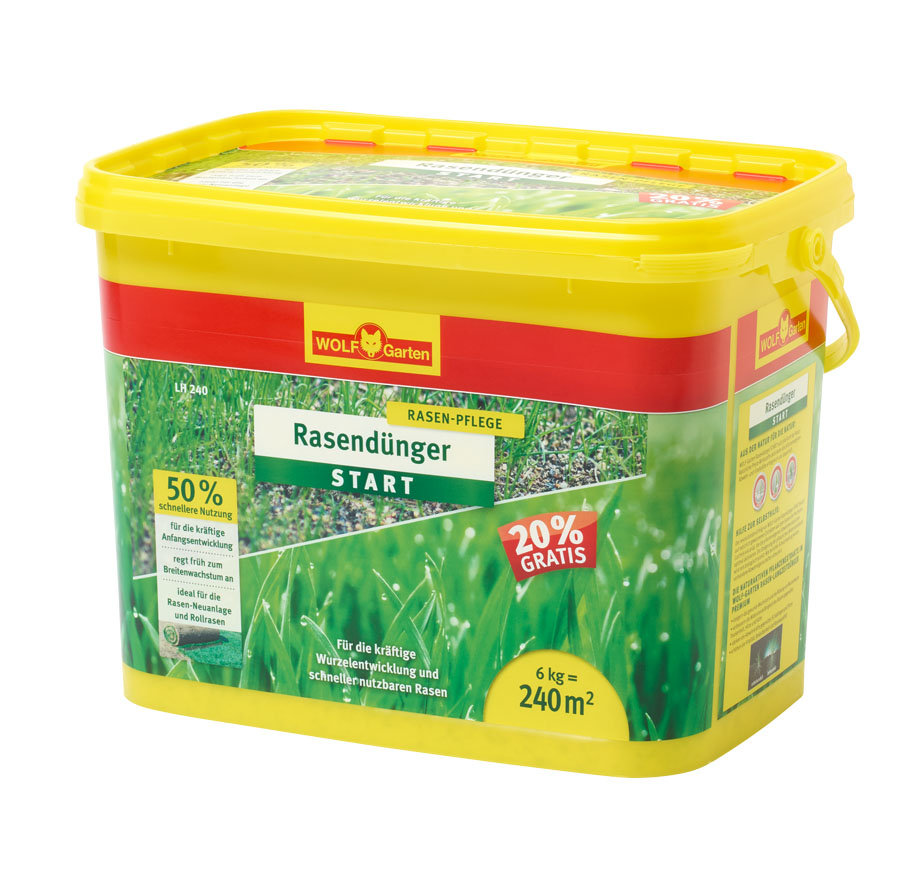 LH 240 LAWN STARTER FERTILISER